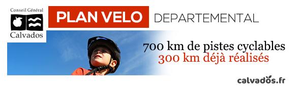 Le plan vélo départemental du Calvados