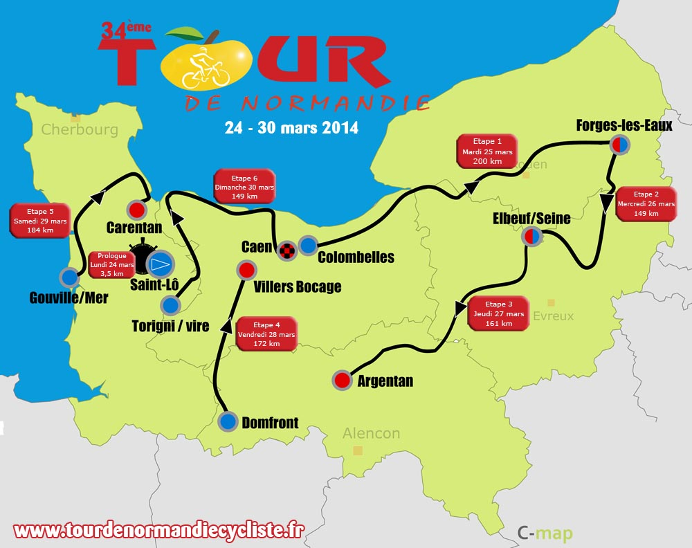Tour Of Normandie Cycling