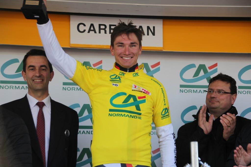 Lucas Liss premier maillot jaune du Tour de Normandie 2016