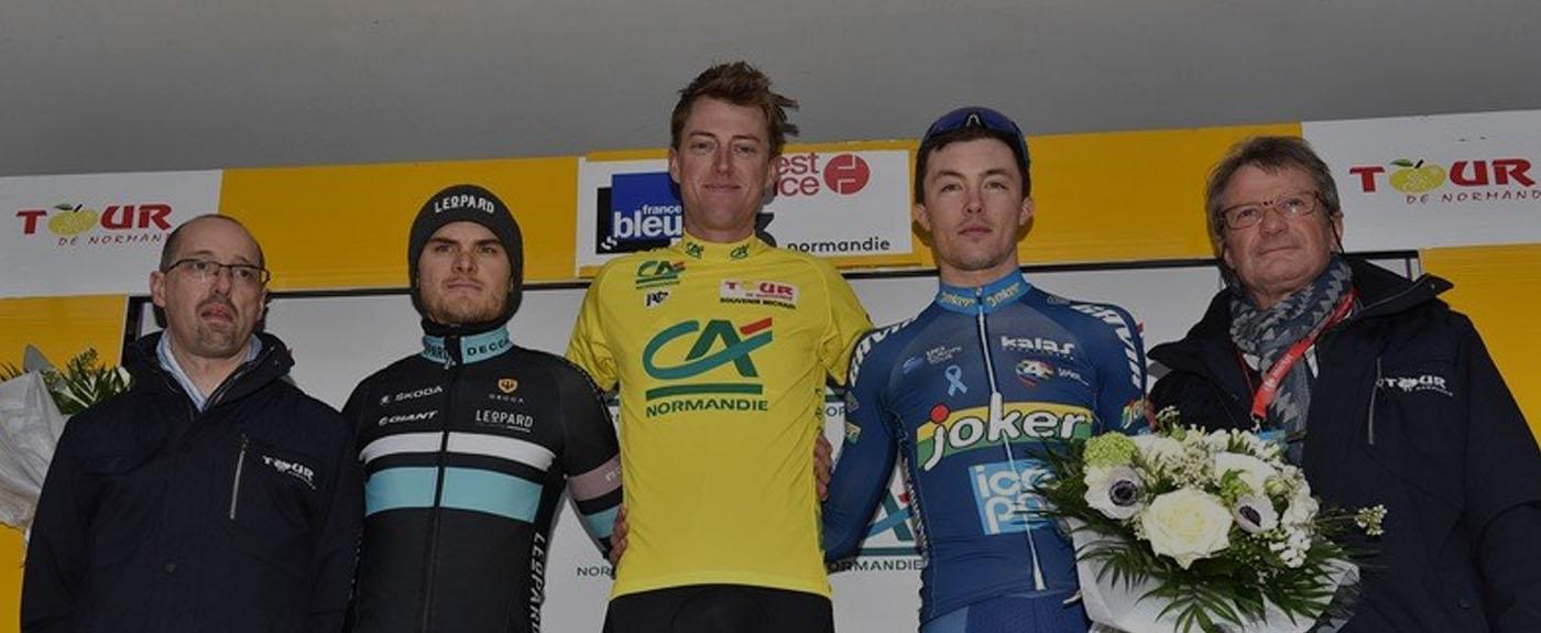 tour de normandie 2018 podium final