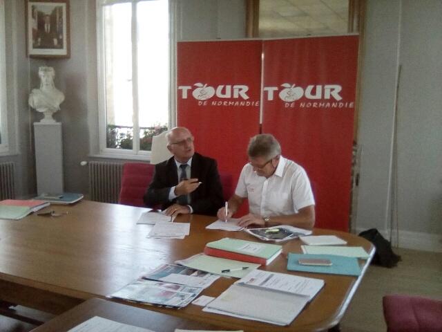 Un départ à Bourg-Achard en 2019