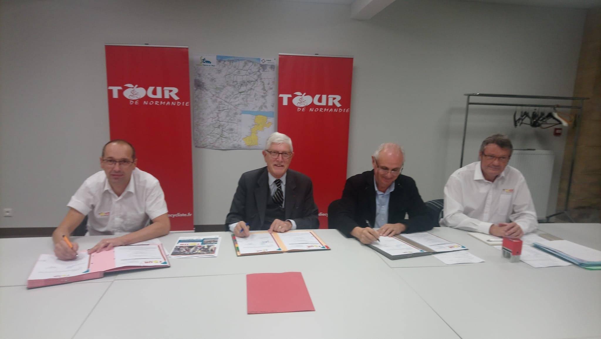 La Communauté de communes Seulles Terre et Mer reçoit le Tour 2019 à Tilly-sur-Seulles