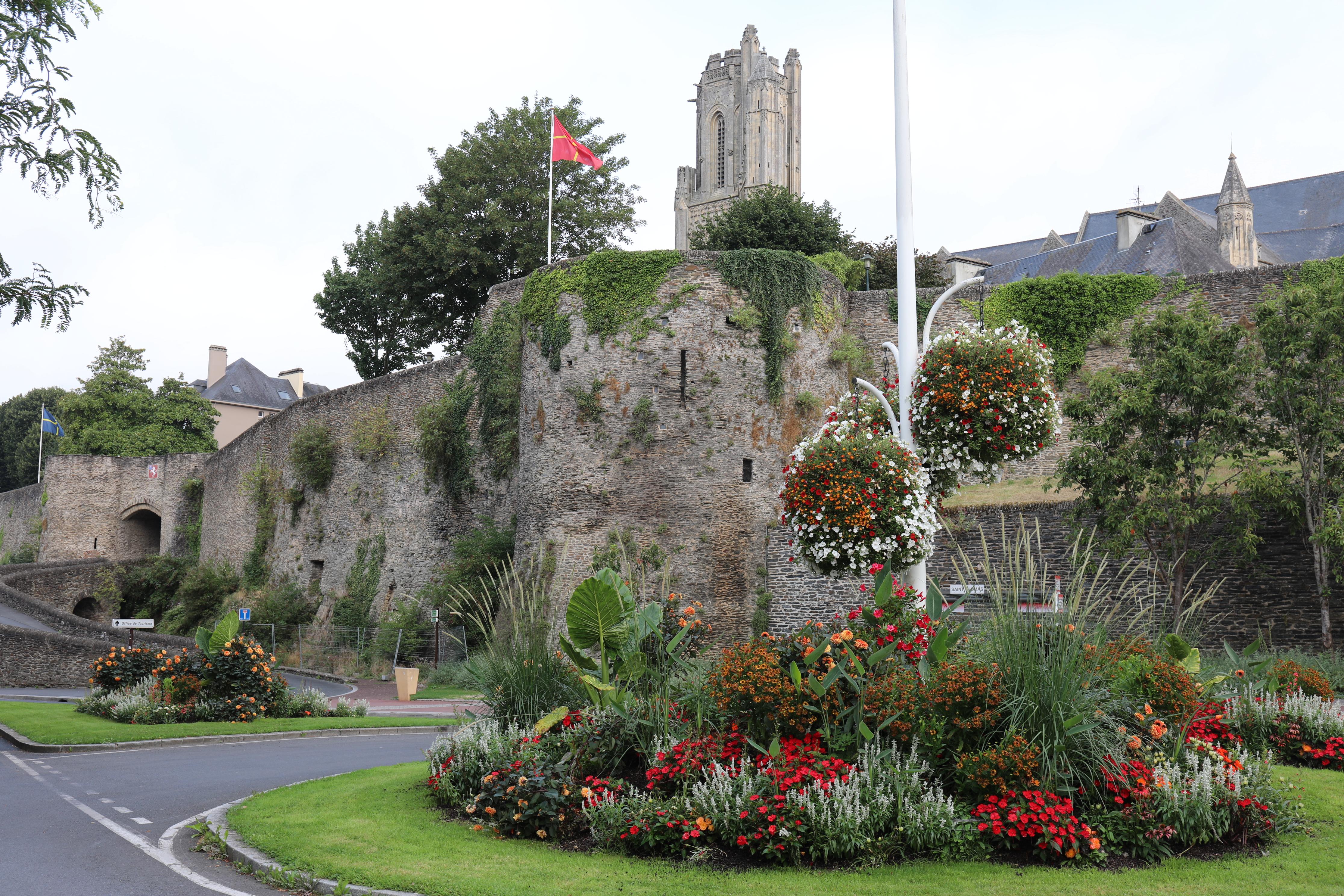 Saint lo ville remparts